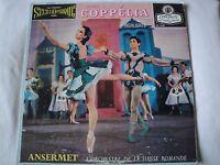 DELIBES COPPELIA BALLET HIGHLIGHTS VINYL LP ERNEST ANSERMET CON. LONDON FFSS REC