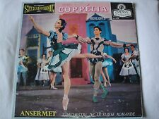 DELIBES COPPELIA BALLET HIGHLIGHTS VINYL LP ERNEST ANSERMET CON. LONDON FFSS REC
