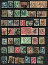 Collection 19th Century Banknotes BOB Sc #114 185 226 etc Few Cancels US B88