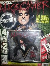 Alice Cooper Welcome 2 my Nightmare CD and Magazine book New rare deleted