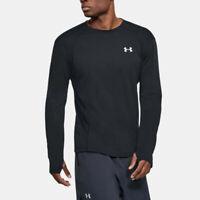 Under Armour Mens Swyft LongSleeve Tee Black Sports Running Gym Breathable