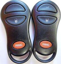 01 02 03 04 Dakota keyless remote control entry clicker key fab TRANSMITTER FOB