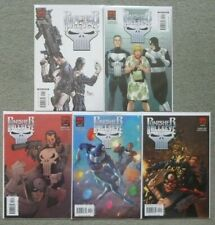 PUNISHER vs BULLSEYE #1-5 SET.DANIEL WAY/STEVE DILLON.MARVEL 2006 1ST PRINT.VFN+