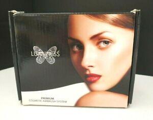 LUMINESS Air Premium Cosmetic Airbrush System BC-250 NO Make Up Used X 1