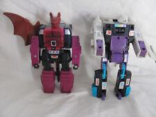 Transformers Mindwipe & Snapdragon headmaster G1 head master Mind wipe Snap drag