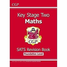 New KS2 Maths Targeted SATs Revision Book - Foundation Level by CGP Books | Pape