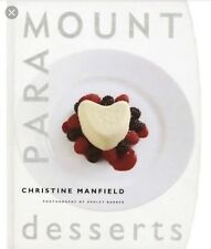 Christine Manfields Desserts, Paramount Desserts Much Sought After Book Recipes