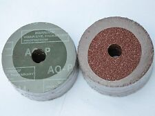 "25 Fiber Sanding Discs 5"" x 7/8"" A/O 120 grit  NEW"