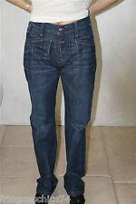 jeans blu grezzo MARITHÉ FRANCOIS GIRBAUD taglia 38 (29) NUOVO CON ETICHETTA