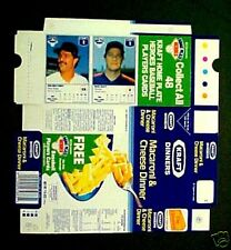1987 Mattingly~Scott Factory~Flat Never-Folded KRAFT BOXES Baseball Cards Panel