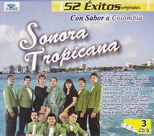 Sonora Tropicana 52 Exitos Originales 3CD New Nuevo sealed