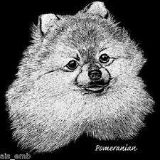 Pomeranian Dog Heat Press Transfer for T Shirt Tote Sweatshirt Fabric Block 893c