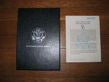 1884CC GSA BOX AND CARD FOR A MORGAN SILVER DOLLAR COIN 1884 CC BOX & CARD ONLY