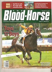 HALL OF FAMER RACHEL ALEXANDRA WINS THE HASKELL BLOOD HORSE GEM MINT NO LABEL