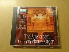 CD / LISZT, LEO VAN DOESELAAR: AMSTERDAM CONCERTGEBOUW ORGAN
