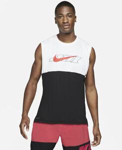 Nike Mens Vest T Shirt S M L XL XXL Summer