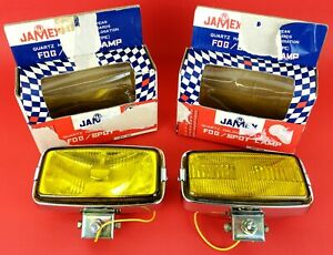 JAMEX FOG SPOT LAMP - IPF-98 - FARI NUOVI - MAI USATI! RARE