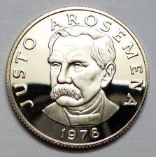 Panama 25 Centesimos 1978 Proof Coin 75th Anniversary - Justo Arosemena !