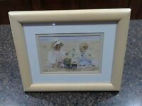 Nora Hernandez 1992 Rare Woods Picture Frame For 5x 7 or 8x 10 Maid In Thailand