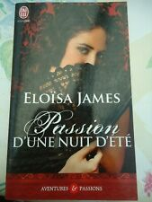 ELOISA JAMES -  PASSION D'UNE NUIT D'ETE -  AVENTURES ET PASSIONS N° 6211