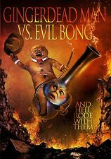 GINGERDEAD MAN VS. EVIL BONG di Charles Band DVD Horror in Inglese NEW .cp