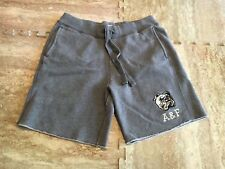 Men's Abercrombie and Fitch Grey Thick Sweatpants Shorts Size Medium M