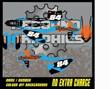 KTM SX SXF 1999-2019 Motocross Gráficos Kit XC EXC 50 65 85 125 150 250 450