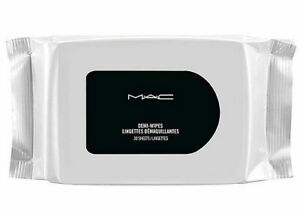NEW Sealed MAC Demi Wipes Cleansing Towelletes/Makeup Remover ~ 30 Sheets