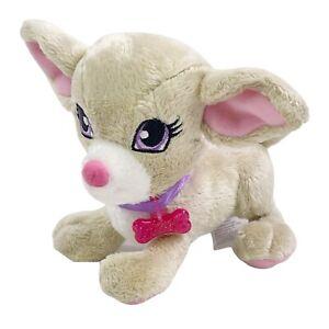 "Mattel Barbie Pal 5"" Chihuahua Puppy Dog Lacey Tan Plush 2009 BE-034 VGUC"