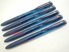 5 x Uni-Ball Signo RT UMN-155 0.38mm Retractable Rollerball Gel Pen, Blue-Black