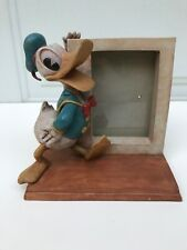 Donald Duck 3-D Picture Frame Disney Charpente Fits 3x5 Pic New Extremely Rare