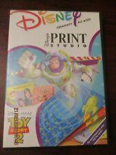 Disney Toy Story 2 Print Studio Software CD Rom