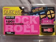 Quiz Wiz Questing Book & Answer Cartridge #10 Tiger Electronic Game Rock & Roll