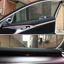 "196"" Red Car Interior Trim Dashboard Gap Filter Filler Thread Insert Line Strip"