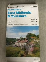 1985 Ordnance Survey Routemaster 6 East Midlands And Yorkshire