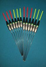 *BARGAIN* 12 x Assorted High Quality Pole Fishing Floats Pack 317R//Y12