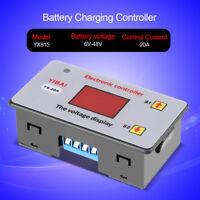 6-48V Batterielade Laderegler Schutzmodul Controller für Unterspannungsschutz DE