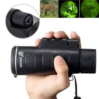 HandHeld 35X50 Portable HD OPTICS BAK4 Night Vision Monocular Telescope Outdoor