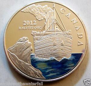 2012 TITANIC Silver Coin Fiji Man White Star Line London New York City U Captain