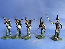 Lead soldier - ORYON  - Infanterie anglaise waterloo 1815 - 95th riffle - Lot 2