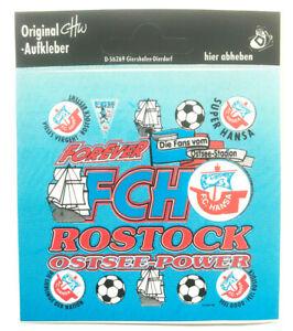 FC Hansa Rostock FCH Ostsee Power Aufkleber Bundesliga Fussball #639