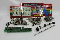 Assorted Model M Slot Machine Parts Coloured Glass Panels Mechanics Motors