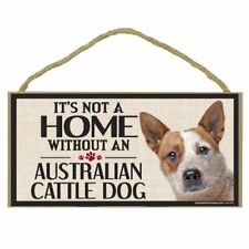Imagine This Wood Sign for Australian Cattle Dog Breeds Bundle Lot Of (3) Three