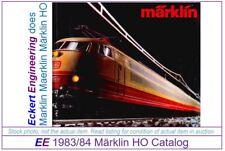 EE 1983/84 E Marklin Total Catalog Years 1983 1984 VG Condition Class 103 Photo