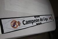 BUFANDA REAL MADRID CAMPEON DE LA 30 CAMPEONATO DE LIGA YA ES NUESTRA   SCARF