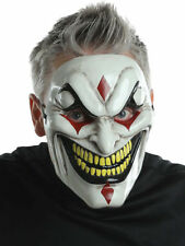 Morris Costumes Evil Jester Polypropylene Injection Mask One Size. MR131384