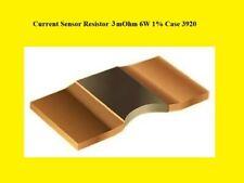 Metal Strip Power Measurement Resistor 3 Mž 1% 6W 3920 1000x
