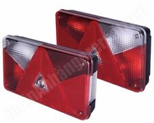 Aspöck Multipoint 5 Rückleuchten Rücklichter Set für Pkw Anhänger