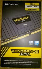 Corsair Vengeance LPX 8GB (2 X 4gb) Memory Kit pc4-19200 2400 MHz DDR4 DIMM C14