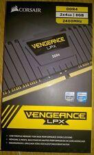 Corsair Vengeance LPX 8GB (2 x 4GB) Memory Kit PC4-19200 2400MHz DDR4 DIMM C14